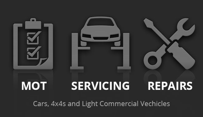 Full MOT servicing and repairs
